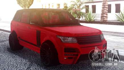 Range Rover Vogue L405 Startech Red para GTA San Andreas