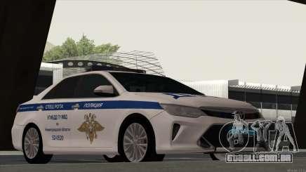 Toyota Camry 2015 polícia de trânsito para GTA San Andreas