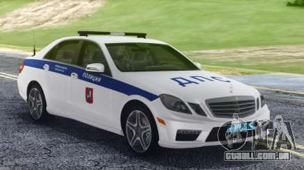 Mercedes-Benz E63 W212 Police para GTA San Andreas