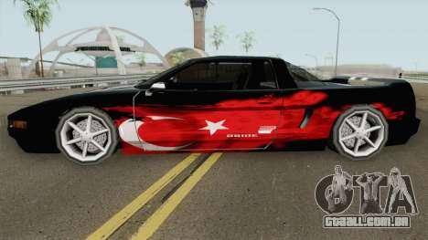 Infernus New (Turkish Skin) 2019 para GTA San Andreas