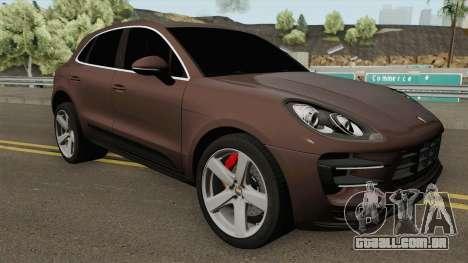 Porsche Macan Turbo 2016 para GTA San Andreas