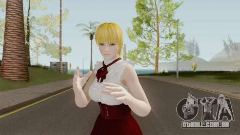 Ayane High Society Blonde para GTA San Andreas