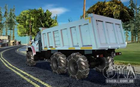 Ural Next Dump Truck LPcars para GTA San Andreas