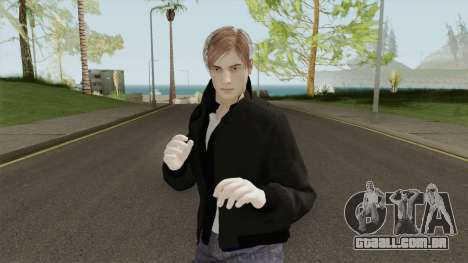 Leon S Kennedy From Resident Evil 2 Remake para GTA San Andreas