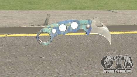 Knife (Monster Skin) para GTA San Andreas