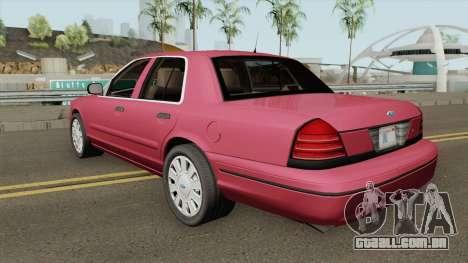 Ford Crown Victoria Civil para GTA San Andreas