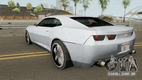 Chevrolet Camaro SS 2006 (SA Style) para GTA San Andreas