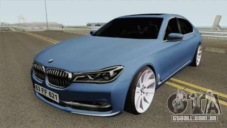 BMW 750Li para GTA San Andreas