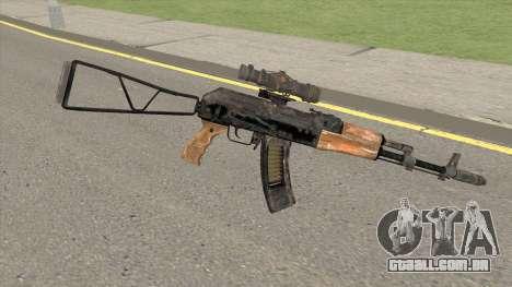 Exodo Metro AK47 para GTA San Andreas