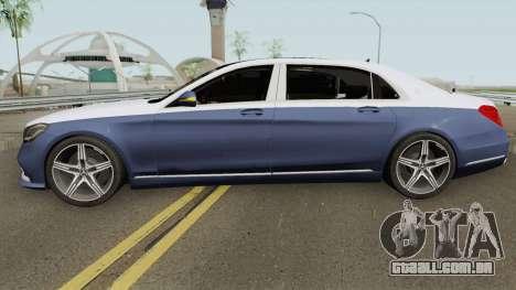 Mercedes-Benz Maybach S650 2019 para GTA San Andreas