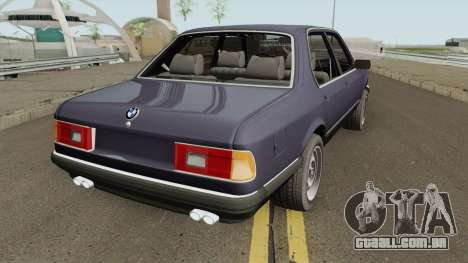 BMW 7 Series E23 para GTA San Andreas