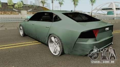Audi A7 (SA Style) para GTA San Andreas