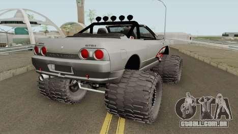Nissan Skyline R32 Cabrio Off Road Shark para GTA San Andreas