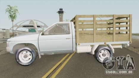 Nissan D-21 Con Estacas Estilo Colombiano para GTA San Andreas