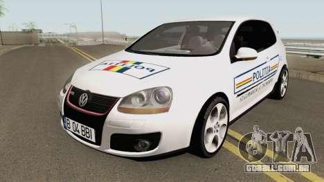 Volkswagen Golf 5 Baieti Buni para GTA San Andreas