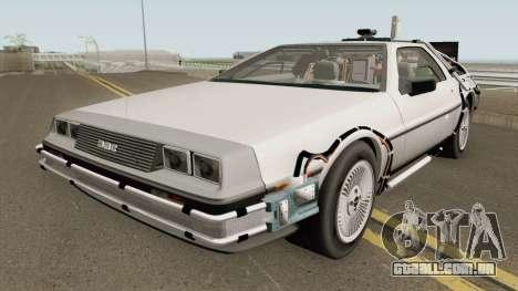 DeLorean DMC-12 (Back To The Future) para GTA San Andreas