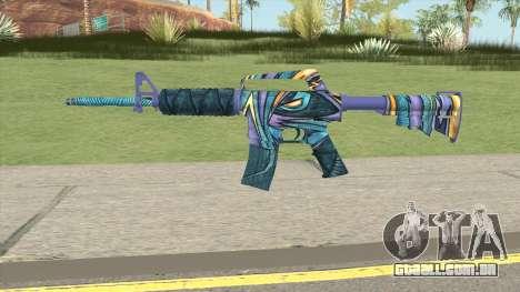 CS:GO M4A1 (Mobius Skin) para GTA San Andreas