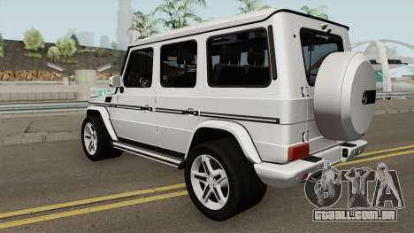 Mercedes-Benz G500 2016 para GTA San Andreas