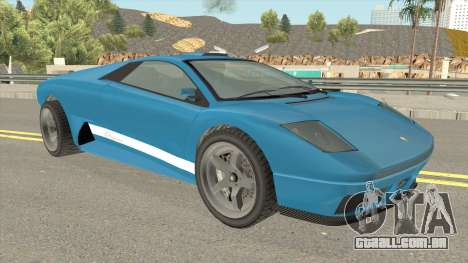 Infernus GTA IV para GTA San Andreas