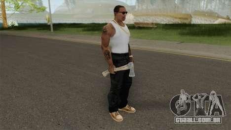 Hatchet From Resident Evil 7 para GTA San Andreas