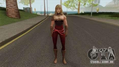 Wondergirl Legendary From DC Legends para GTA San Andreas