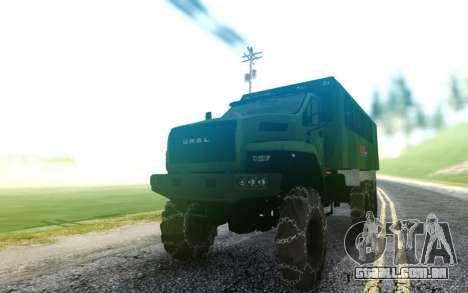Ural Relógio Ao Lado LPcars para GTA San Andreas