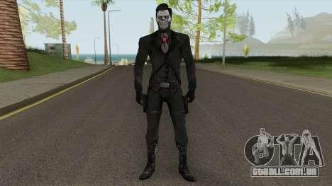 Erron Black (Without Hat) From Mortal Kombat X para GTA San Andreas