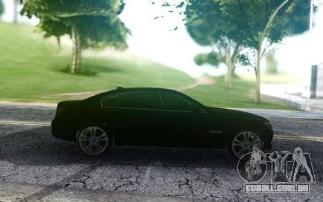 BMW 740LI Pasha Pala para GTA San Andreas