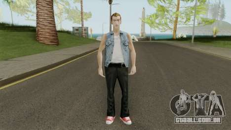 Paul HD With GTA Online Outfit para GTA San Andreas