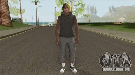 Skin Random 7 (XXXTentacion) para GTA San Andreas