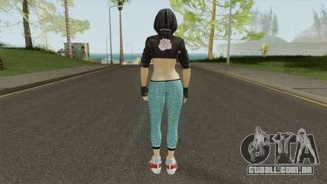 Momiji Sport Leggings para GTA San Andreas