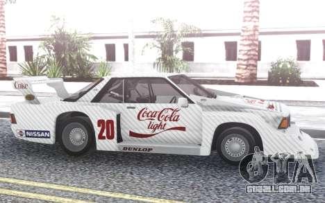 Nissan Bluebird Super para GTA San Andreas