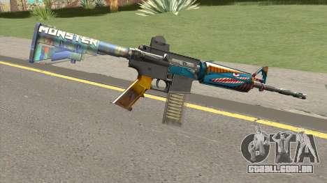 M4 (Monster Skin) para GTA San Andreas