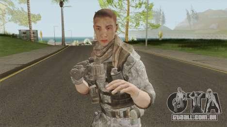 Konrad Enemy From Spec Ops: The Line para GTA San Andreas