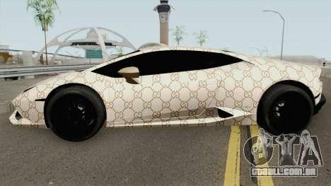 Lamborghini Huracan 2014 (Gucci Style) para GTA San Andreas