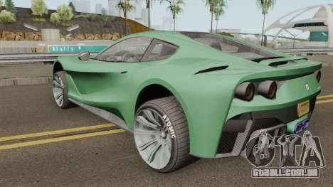 Grotti Itali GTO GTA V IVF para GTA San Andreas