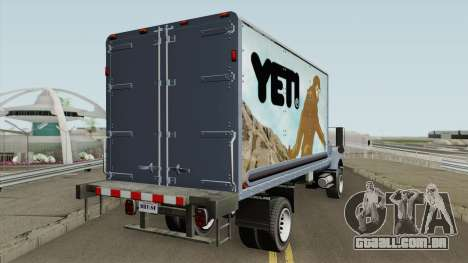 Vapid Yankee 2nd GTA V IVF para GTA San Andreas