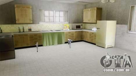 New Rooms (CJ House) para GTA San Andreas