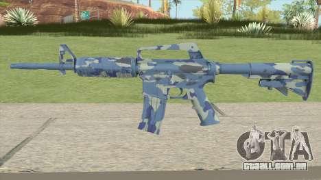 CS:GO M4A1 (Ocean Bravo Skin) para GTA San Andreas