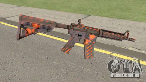 CS-GO M4A4 Radiation Hazard para GTA San Andreas
