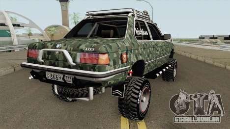 BMW 316i Tuning Offroad para GTA San Andreas