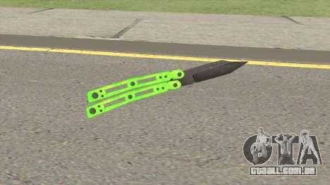 Knife V2 (Apocalypse) para GTA San Andreas