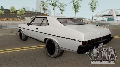 Declasse Vamos GTA V (Stock) para GTA San Andreas