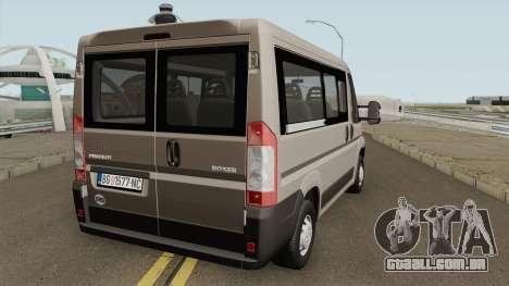 Peugeot Boxer 2.2 HDi para GTA San Andreas