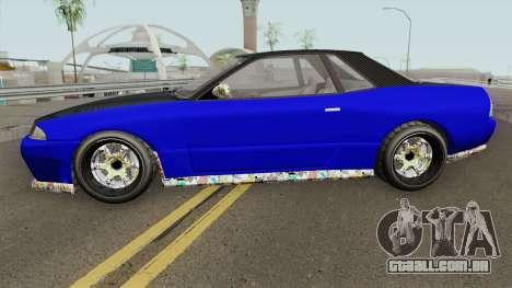 Annis Elegy Custom GTA V para GTA San Andreas