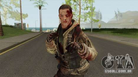 Rick Gould From Spec Ops: The Line para GTA San Andreas