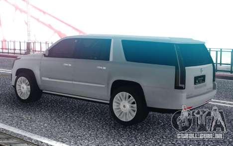 2018 Cadillac Escalade Lafayette LA para GTA San Andreas