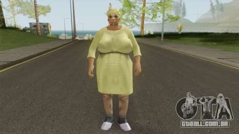 Auntie Poulet From VC para GTA San Andreas
