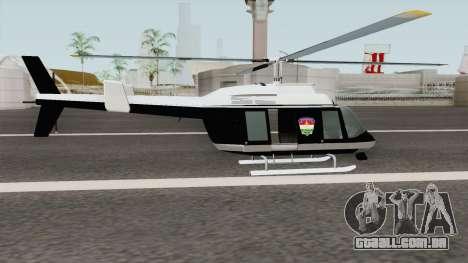 Hungarian Police Maverick (Magyar Rendorhelikop) para GTA San Andreas