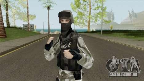 Fuerzas Especiales De La Marina para GTA San Andreas